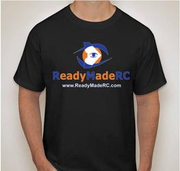 High Quality Ready Made RC T-Shirt - Black