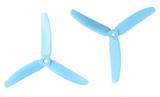 Gemfan Master - 5 x 4 x 3 (2CW, 2CCW) Blue