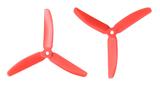 Gemfan Master - 5 x 4 x 3 (2CW, 2CCW) Red