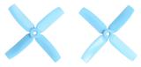 Gemfan Master - 4 x 4 x 4 (2CW, 2CCW) Blue