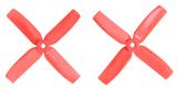 Gemfan Master - 4 x 4 x 4 (2CW, 2CCW) Red