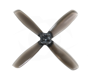 RotorX RX2535 2.5 Quad Blade Propellers - Smoke Black