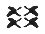 RakonHeli 4 Blade Propeller (2CW+2CCW) (6mm Motor) - BLACK