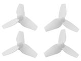 RakonHeli 3 Blade Propeller (2CW+2CCW) (7mm Motor) - WHITE