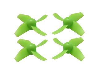 RakonHeli 4 Blade Propeller (2CW+2CCW) 31mm - GREEN