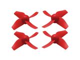 RakonHeli 4 Blade Propeller (2CW+2CCW) (6mm Motor) - RED
