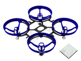 Rakonheli CNC AL and CF Upgrade Kit Inductrix - BLUE