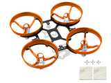 RakonHeli CNC Upgrade Kit Inductrix FPV - ORANGE