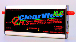 Iftron - ClearView 1.3 GHz XLR (Xtra Long Range) Video Receiver