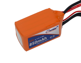 RMRC Orange Series - 850mAh 4S 60C Lipo - XT60 (12.6wh)