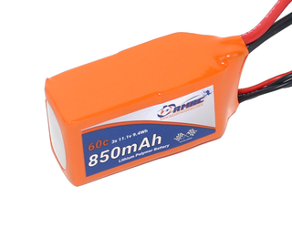 RMRC Orange Series - 850mAh 3S 60C Lipo - XT60 (9.4Wh)