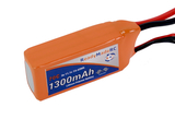 RMRC Orange Series - 1300mAh 3S 70C Lipo - T-Connector (14.43Wh)