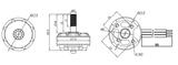 EMAX - RS2205-S Race Spec - 2300KV