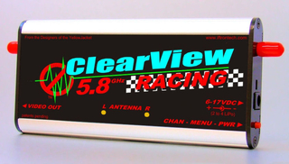 Iftron - ClearView 5.8 Racing Receiver