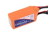 RMRC Orange Series - 1300mAh 4S 70C Lipo - XT60 (19.24Wh)