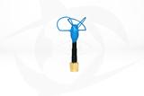 Omnivision - 5.8GHz 3 Lobe Stubby SMA Antenna - LHCP Blue