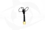 Omnivision - 5.8GHz 3 Lobe Stubby SMA Antenna - LHCP Black