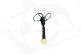 Omnivision - 5.8GHz 3 Lobe Stubby SMA Antenna - RHCP Black