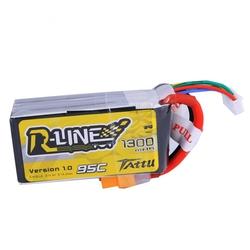 Tattu R-Line 1300mAh 4S 95C Lipo Pack - XT60 (Wh 19.2)
