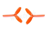 DYS 3-blade 5050 prop - ORANGE