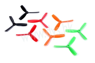 DYS 3-blade 5045 Prop - RED
