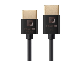 Ultra Slim Active High Speed HDMI® Cable, 18Gbps, 15ft Black