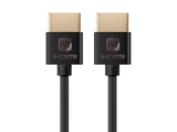 Ultra Slim Series High Speed HDMI® Cable, 6-inch Black