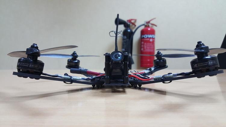 dws gremlin carbon fiber quadcopter frame 5