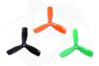 Gemfan PC Propeller - 4 x 4.5 x 3 Orange (Bullnose)