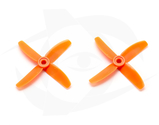 Direct Drive HQ Prop - Glass Fiber - 3x3x4R Orange