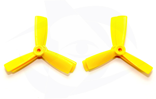 HQ Prop - Durable Series DP4X4.5X3 - Yellow (2CW, 2CCW)