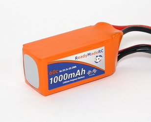 RMRC Orange Series - 1000mAh 6S 60C Lipo - XT60  (22.2Wh)