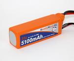 RMRC Orange Series - 5100mAh 4S 35C Lipo - T Connector (75.5Wh)