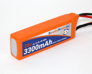 RMRC Orange Series - 3300mAh 4S 35C Lipo - XT60 (48.8Wh)