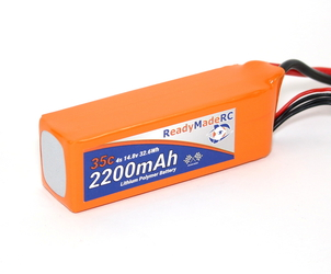 RMRC Orange Series - 2200mAh 4S 35C Lipo - XT60 (32.6Wh)