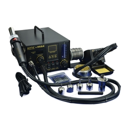 Aoyue 968A+ 4in1 Digital Hot Air Rework and Soldering Station