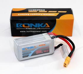 Bonka 1300mAh 4S 65C Lipo - XT60 (19.24Wh)