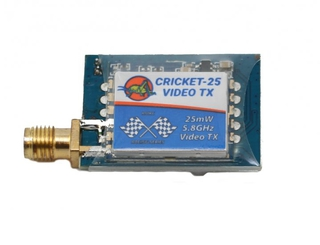 RMRC Cricket V2 - 5.8GHz Video Transmitter w/ Race Band - 25mW