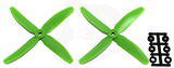 Direct Drive HQ Prop - Glass Fiber - 5x4x4R Green