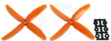 Direct Drive HQ Prop - Glass Fiber - 5x4x4 Orange