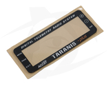 FrSky - Replacement Display Panel Cover for Taranis Plus