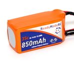 RMRC Orange Series - 850mAh 4S 35C Lipo - T-Connector (12.6Wh)
