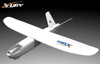 XUAV Mini Talon KIT EPO 1300mm Wingspan V-tail FPV Plane