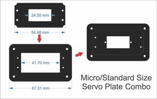 CXN - DIY Servo Plate Combo (Micro & Standard)