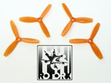 RotorX RX3040T Tri Prop 4 pack - Orange