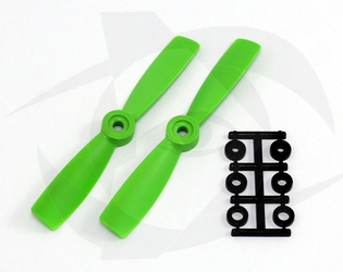 Direct Drive HQ Prop - Glass Fiber - 4.5x4.5 Green (Bullnose)