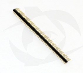 Pin Headers - 1 Row, Right Angle (40 Pins, 2.54 spacing)