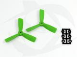 Direct Drive HQ Prop - Glass Fiber - 4x4.5x3R Green (Bullnose)