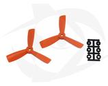 Direct Drive HQ Prop - Glass Fiber - 4x4.5x3 Orange (Bullnose)