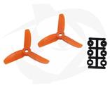 Direct Drive HQ Prop - Glass Fiber - 3x3x3R Orange